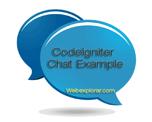 CodeIgniter Chat example