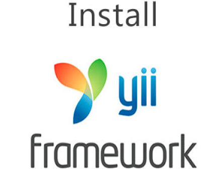 Correct and easy way to install the yii Framework