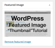 WordPress save youtube or vimeo thumbnail as featured image