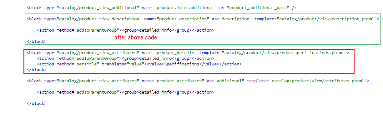 Magento add custom attribute to product details page